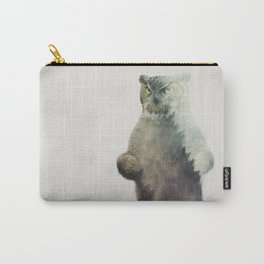 Owlbear in Forest Carry-All Pouch