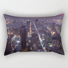 Johannesburg By Night Rectangular Pillow