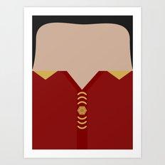 Khan Noonien Singh - Space Seed - Star Trek The Original Series TOS - startrek - Trektangles KHAAAN! Art Print