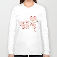 magical girl Long Sleeve T-shirts featuring Become A Magical Girl!  by Minty Art