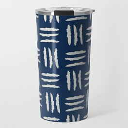 Linear Marks Travel Mug