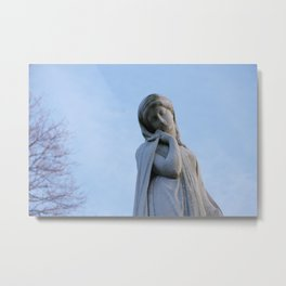 I Want To Be A Mysterious Woman Metal Print