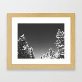 After the Snow Storm Framed Art Print