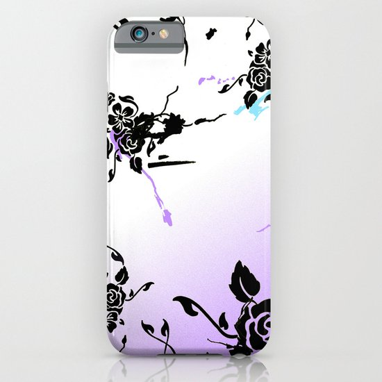 Punkoco Floral Blues iPhone & iPod Case