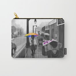 Passing in the Street Carry-All Pouch