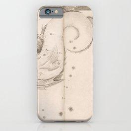 Johann Bayer - Uranometria / Measuring the Heavens (1661) - 47 Piscis Australis / Southern Fish iPhone Case