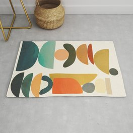 Modern Abstract Art 72 Rug