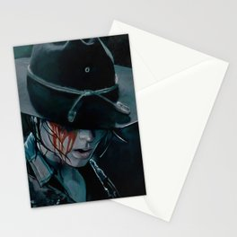 Carl Grimes Shot In The Eye - The Walking Dead Stationery Cards