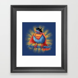 It's A Bird! Framed Art Print