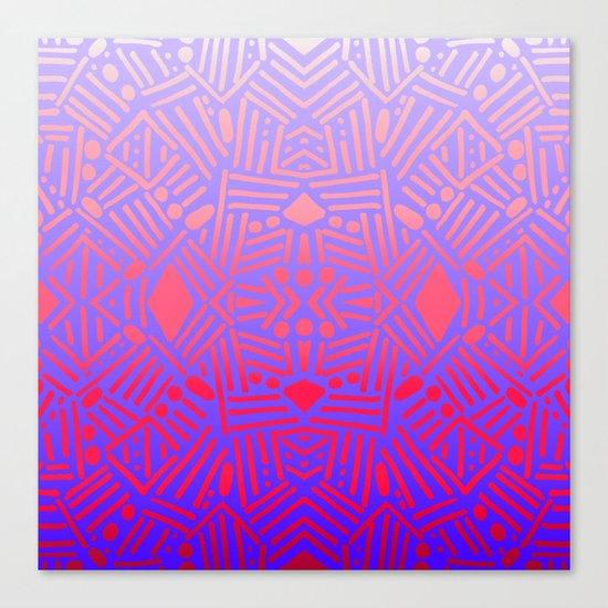 Bali (Ombre) Canvas Print