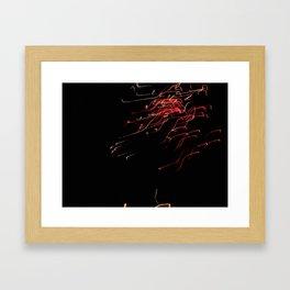 Bright Night Lights 8 Framed Art Print