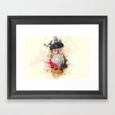 Spain Owl Framed Art Print