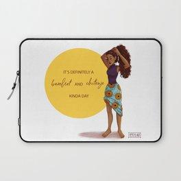 Barefeet and Chitenje Kinda Day Laptop Sleeve