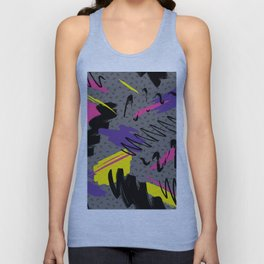 Fashion Patterns Retro Sweat Unisex Tank Top