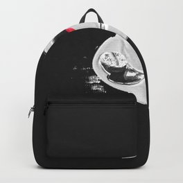 Coffee and Lipstick Coffee Drinker Sexy Gift Lips Kiss Backpack