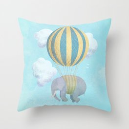 Escape From the Circus Throw Pillow