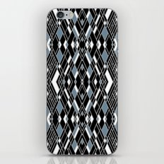 Art Deco Blue iPhone & iPod Skin