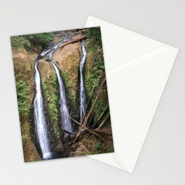 Triple Falls in the Columbia River Gorge Stationery Cards