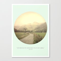 Mountain Tops Canvas Print