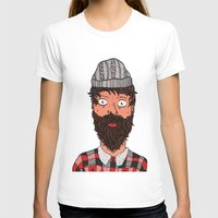 larry T-shirts featuring Larry Lumberjack by ALFIE creative design