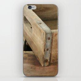 Just Crates iPhone Skin