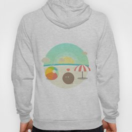 Confused Coconut @ the Beach Hoody