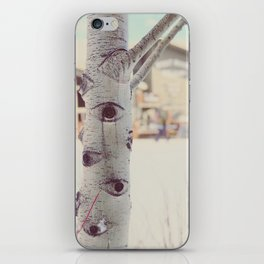 Aspen Tree Jackson Hole Mangy Moose iPhone Skin