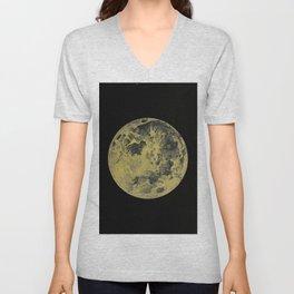 Antique Moon Unisex V-Neck