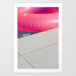 Floatie Art Print