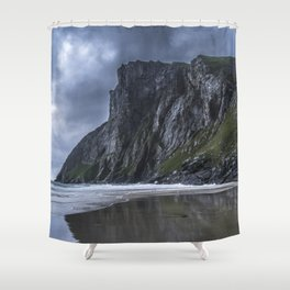 Amazing beach Shower Curtain