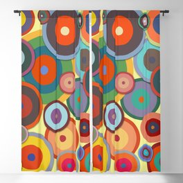 Kandinsky #3 Blackout Curtain