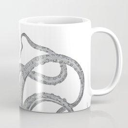 Vintage kraken octopus tentacles nautical antique sea creature steampunk graphic print Coffee Mug