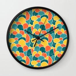 Smoosh Face Wall Clock