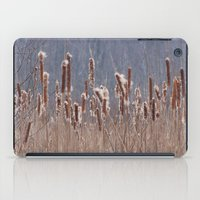 furry iPad Cases featuring Furry Cattails by DanByTheSea
