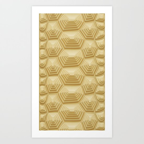 Tortoise Shell Art Print