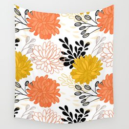 Flowers 111 Wall Tapestry