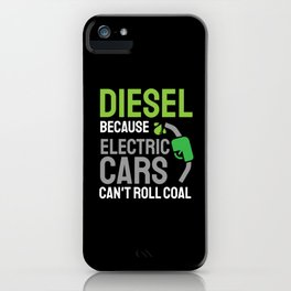 Coal Truck Diesel Gas Driver Driving Gift iPhone Case