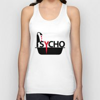 psycho Tank Tops featuring Psycho by Oh! My darlink