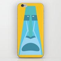 tiki iPhone & iPod Skins featuring Tiki by Graeme Luey