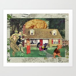 Occupie (us and them) Art Print