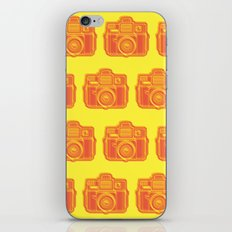 I Still Shoot Film Holga Logo - Yellow & Red iPhone & iPod Skin