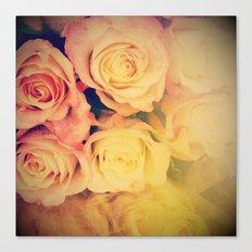 Pretty Little Roses Canvas Print