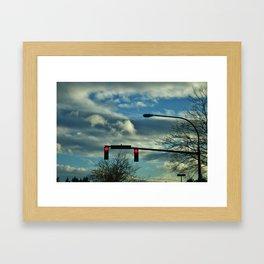 Dark Afternoon Framed Art Print