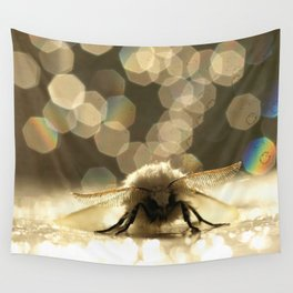 Moth In The Sun Light... Wall Tapestry