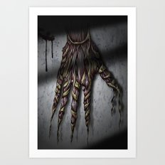 Hold your breath! Art Print
