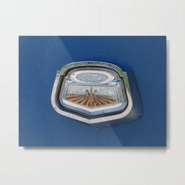 Vintage FORD Truck Badge Metal Print