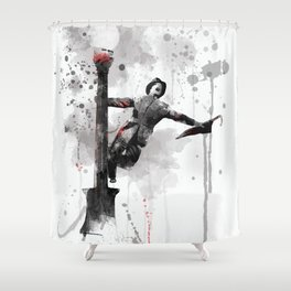 Singing in the Rain - Gene Kelly Shower Curtain