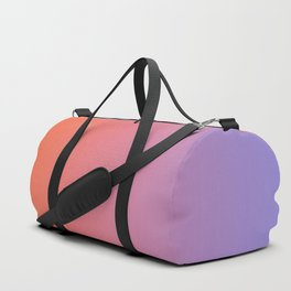 Gradient Abstract V Duffle Bag