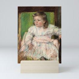 Mary Cassatt - The Pink Sash Mini Art Print