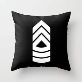 Master Sergeant Throw Pillow